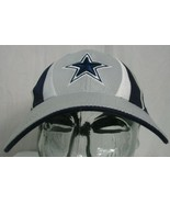 Dallas Cowboys Youth Strapback Hat Cap Blue White Silver  - $14.84