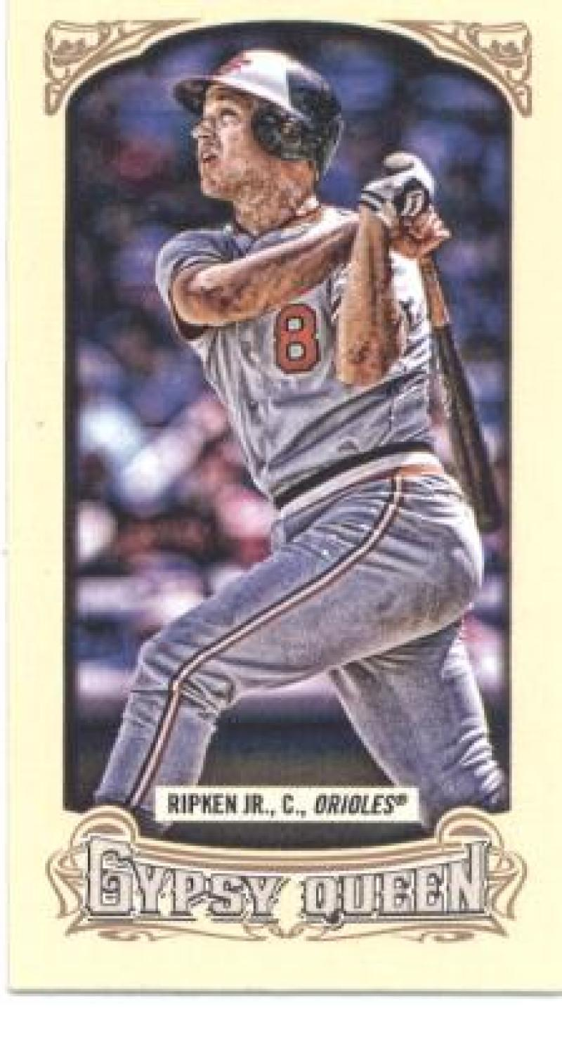Primary image for 2014 Topps Gypsy Queen Mini Box Variations #175 Cal Ripken Jr. Orioles NM-MT