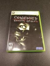 Condemned: Criminal Origins (Xbox 360, 2005) VERY GOOD COMPLETE DISC NEA... - $11.88