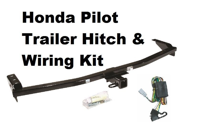 03 08 honda pilot trailer hitch w wiring kit and 25 similar items  s l1600