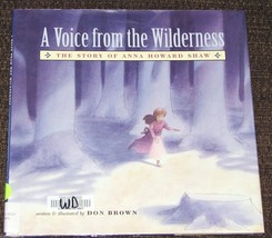 A Voice from the Wilderness Story of Anna Howard Shaw American Wildernes... - $2.69