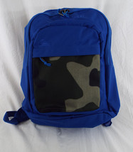 Quiksilver Dart Backpack Bright Blue & Camoflage Greys - $28.95