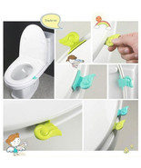 Toilet Clamshell Tool Toilet Seat Cover Handles Potty Ring LS - $4.99