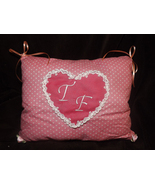 Pink Heart Toothfairy Pillow IN STOCK - $12.00