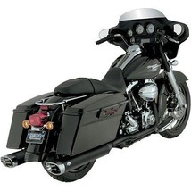 Vance And Hines Dresser Dual Header Pipes For Harley 1995 2008 Models - $467.49