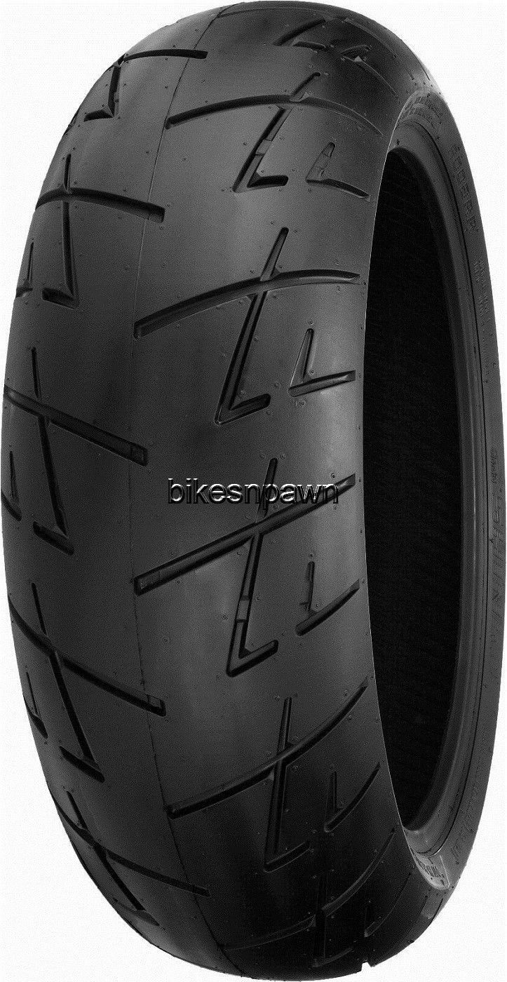 New Shinko 009 Raven Radial 170/60ZR17 Rear Sportbike Motorcycle Tire