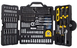 STANLEY STMT73795 Mixed Tool Set, 210-Piece W/ Durable Carry Case - $202.45