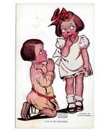 Katharine Gassaway Children This Is So Sudden Vintage 1906 Valentine Pos... - $4.99