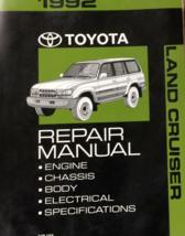 1992 Toyota Land Cruiser Service Repair Shop Workshop Manual NEW - $239.23