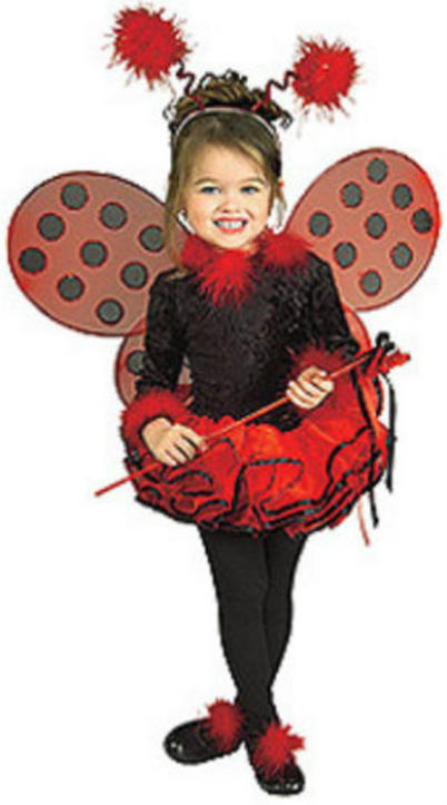 Rubie s deluxe lady bug toddler   child masquerade concepts costume   67169