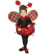 Rubie's Deluxe Lady Bug Toddler & Child Masquerade Concepts Costume - 67169 - £31.68 GBP