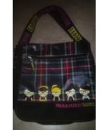 Harajuku Plaid Messenger Book Bag BackPack By Gwen Stephanie - $29.99