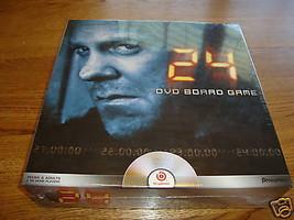 24 DVD board game NEW Pressman 20th Century fox B1 games RARE  - $12.86