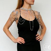 Wedding Shoulder Necklace Kristy, Shoulder Jewelry - $149.00
