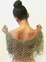 Bolero Burlesque, Beaded Shoulders Necklace - $149.00