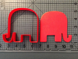 Elephant 102 Cookie Cutter - $5.50+