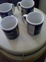 Set of 4 Saturday Evening Post Mugs Norman Rockwell Collection (Patrioti... - $30.00
