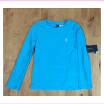 $45 Polo Ralph Lauren Girls' Rashguard Swim Coverup, Blue, Size 6X - $16.16