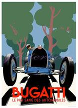 A Vintage Bugatti Race Car Giclee 13 x 10 inch ... - $19.95