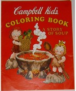 Vintage 1976 Campbell Kid's Coloring Book - Sto... - $5.99
