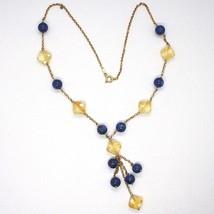 Silver 925 Necklace,Yellow,Quartz Citrine,Kyanite,Pendant Bunch image 2