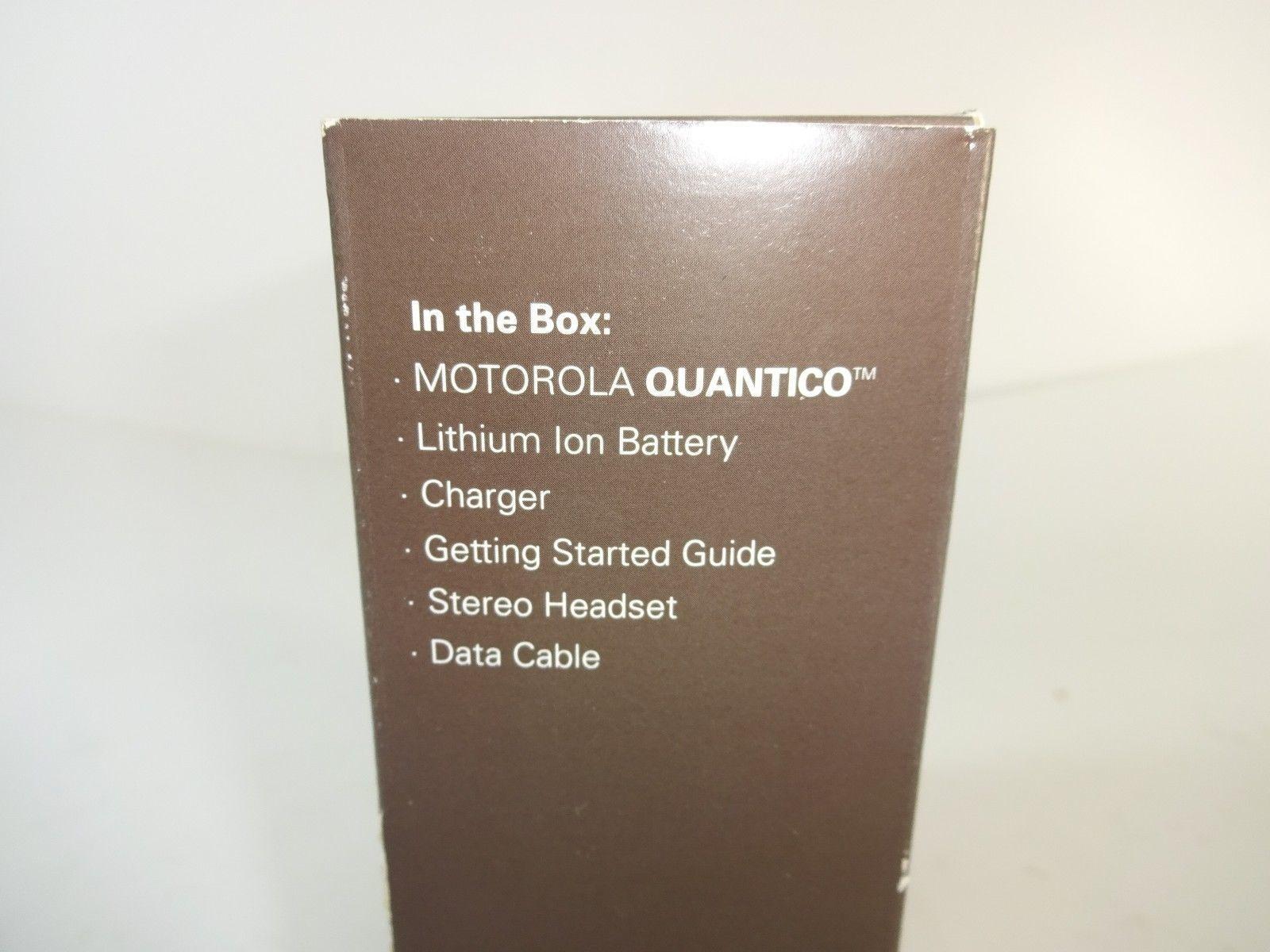 motorola quantico manual
