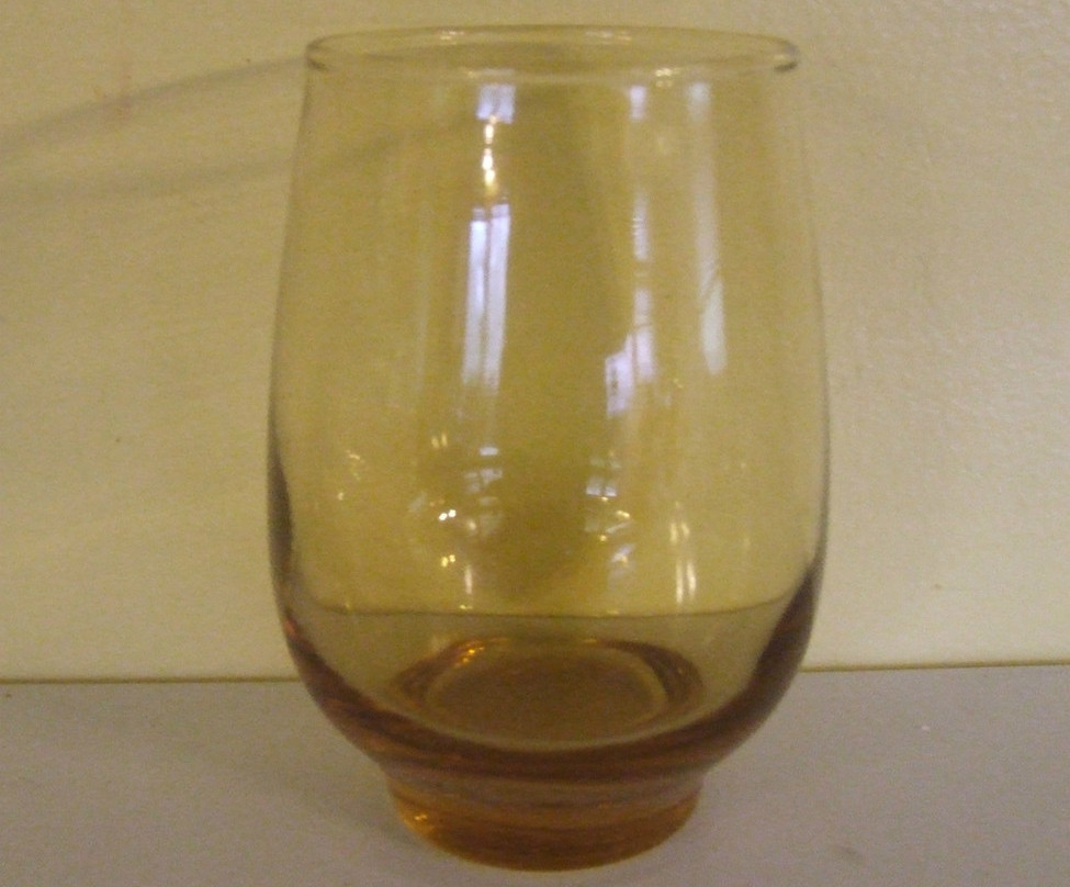 Libbey tempo honey gold amber best
