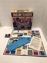 Tabloid Teasers Vintage Board Game Complete Pressman 1991  - £9.35 GBP