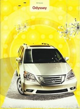 2009 Honda ODYSSEY sales brochure catalog 09 US Touring - $7.00