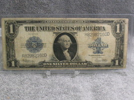 1923 $1 SILVER CERTIFICATE NOTE--DECENT NOTE-FREE SHIP - $39.00