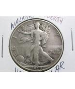 1938 D STANDING LIBERTY SILVER HALF  DOLLAR-FAI... - $79.00