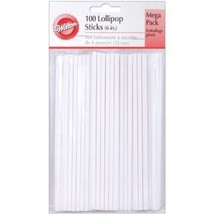 100 Count Pack Sturdy Paper 6-Inch Lollipop Can... - $11.47