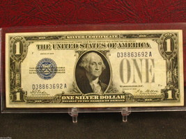 "1928 $1 SILVER CERTIFICATE -""FUNNYBACK"" DECENT SPECIMAN-FREE SHIPPING.... - $67.95"