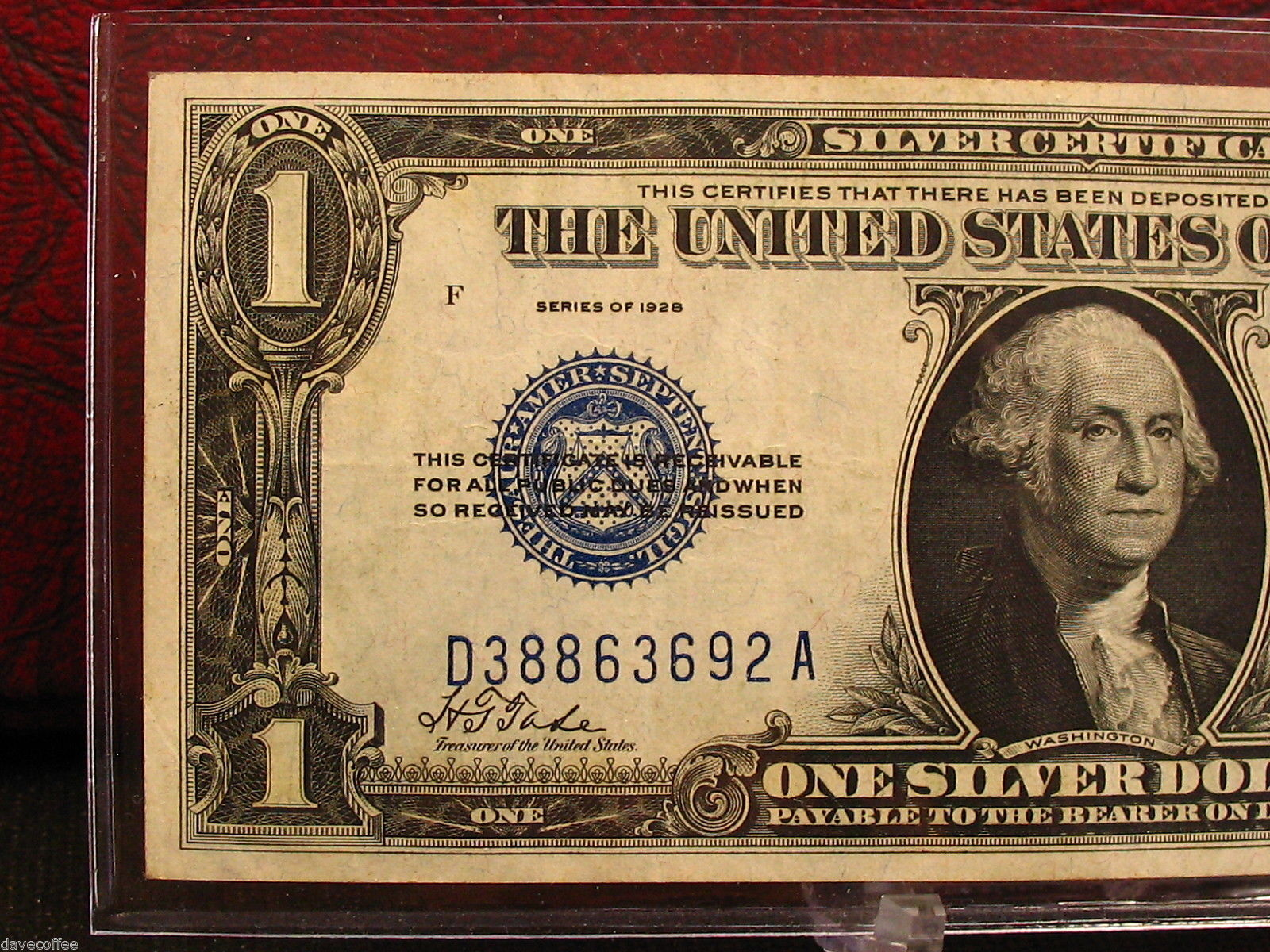 1928 1 Silver Certificate Funnyback And 13 Similar Items
