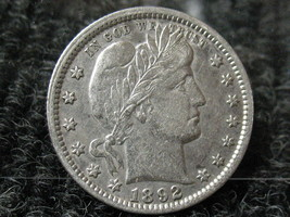 1892 BARBER HEAD QUARTER-FULL LIBERTY..... FREE SHIPPING - $119.00