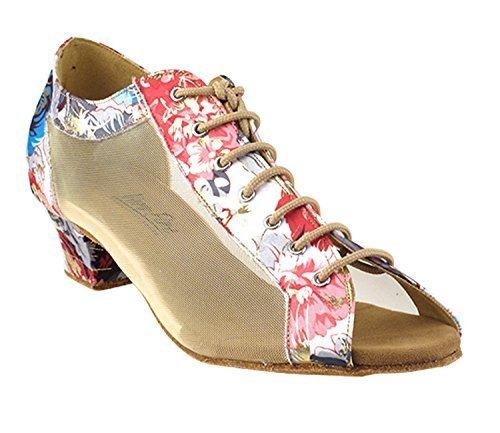 Very Fine Ladies Women Ballroom Dance Shoes EK1643LED Limited Copper Velvet L...