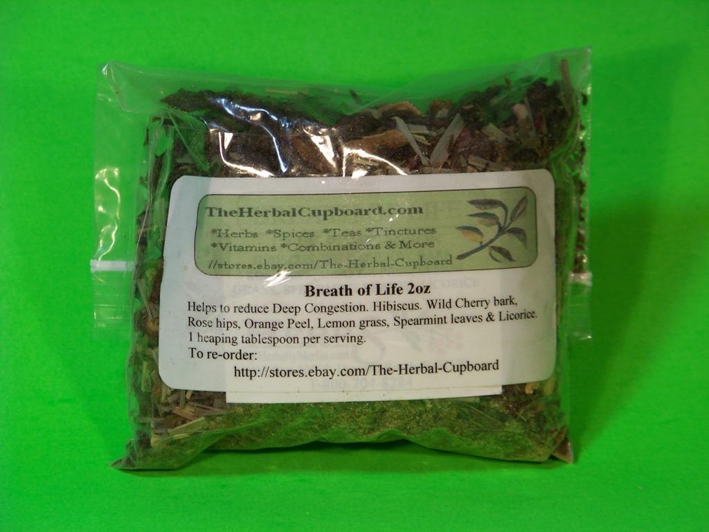 Breath of Life, Flu/Congestion buster-Sale, 4 oz, $7.50