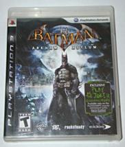 Playstation 3   Bat Man Arkham Asylum (Complete With Manual) - $10.00