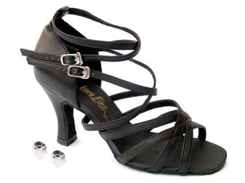 Very Fine Ladies Women Ballroom Dance Shoes EK5008Mirage Silver Sparkle & Sil...