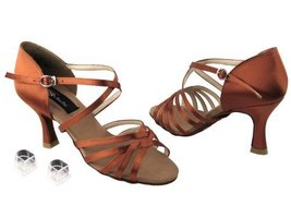"Ladies Women Ballroom Dance Shoes from Very Fine CD2001 Series 3"" Heel (9, Da... - $79.95"