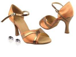 "Ladies Women Ballroom Dance Shoes Very Fine EKSA3710 SERA 2.5"" Heel with Heel... - $65.95"
