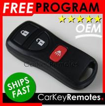NEW! OEM Nissan Remote Fob w/ Instructions # CWTWB1U733 # 28268EA - Ships Fast!