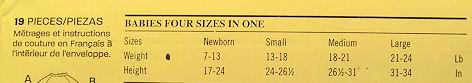 6331 NB - Large Baby Boy Girl Top Pants Bibs Hat Uncut