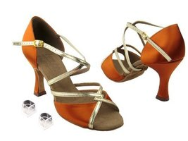 "Ladies Women Ballroom Dance Shoes Very Fine EKS92318 Signature 3"" Heel w... - $75.95"