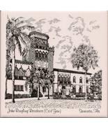 John Ringling Residence-Sarasota-Florida-Trivet - $5.00