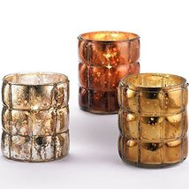 Roost Brass Wire Wrapped Votive Holders Set of 3 - $25.99