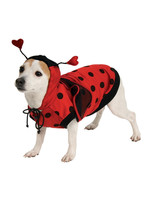 Rubies ** LADYBUG ** Hooded DOG Costume Size Medium New - $13.36