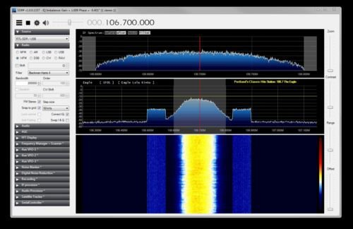 RF Spectrum Analyzer using USB dongle