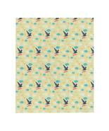 Birds Pattern Throw Blanket - $42.00