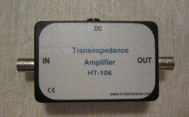 Transimpedance Amplifier - Photodiode Amplifier HT-106 - $139.00